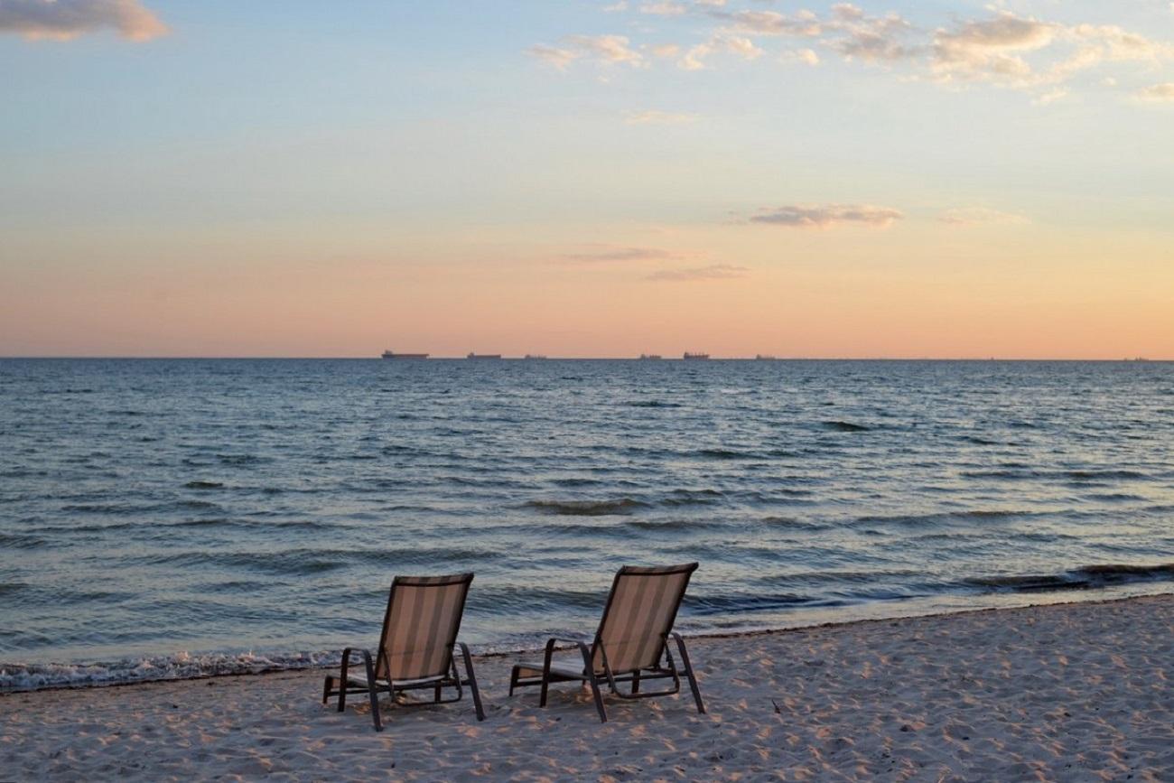 Картинки коблево пляж